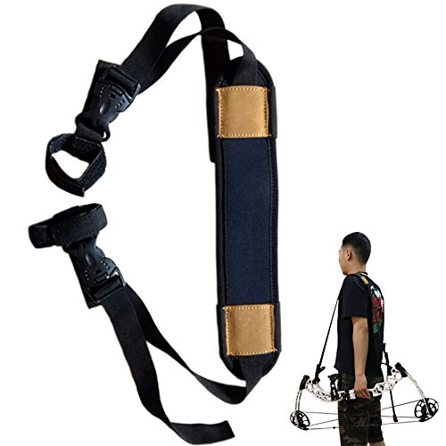 TOPARCHERY Compound Bow Sling Archery Carry Bag Shoulder Strap Hunting