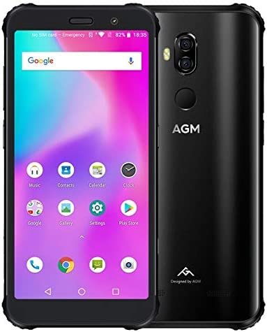 AGM X3 Android 8.1 Smartphone Octa Core 8+128GB FHD IPS Face ID 4G ...
