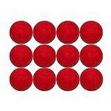 Velocity Lacrosse Balls: 12 Balls - Red