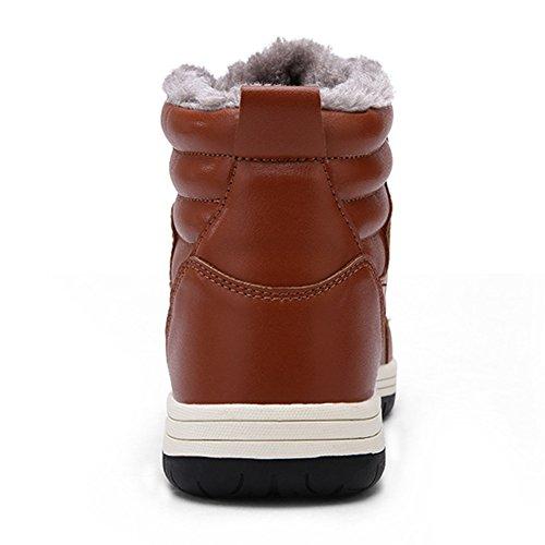 Caldo Caviglia Razziali Imbottita Taglia Impermeabili Sneakers Uomini Inverno Caldi 39 48 Pizzo Casuali Hibote Stivali Di Sneakers q8xzfB