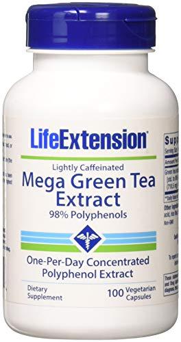 Life Extension Mega Green Tea Extract - Lightly Caffeinated
