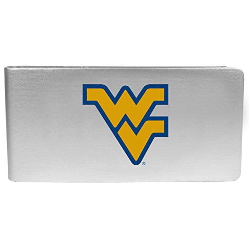 NCAA West Virginia Mountaineers Logo Money Clip (Virginia Clip Paper Holder West)