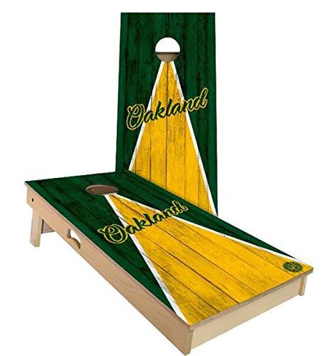 Skip's Garage オークランド トライアングル 野球 コーンホールボードセット - サイズとアクセサリーをお選びください - ボード2枚 バッグ8枚など B07N47ZP4R D. 2x4 Boards (All Weather Bags)|B.付属品 (1) ブラック 持ち運び用/収納ケース  D. 2x4 Boards (All Weather Bags), マジカルPC 5617f8cf