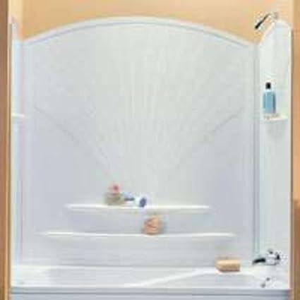 Maax 101592-000-129 Bathtub Wall Kits White - Tub Filler Faucets ...
