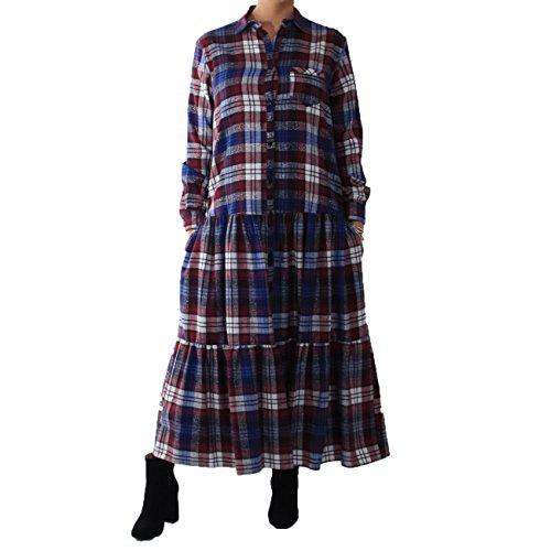 Blau Damen Imperial Imperial Kleid Rot Damen TBaq6q