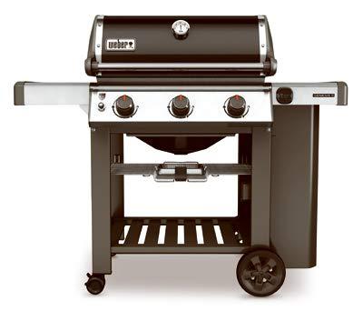 Weber 61010001 Genesis II E-310 Liquid Propane Grill, Black