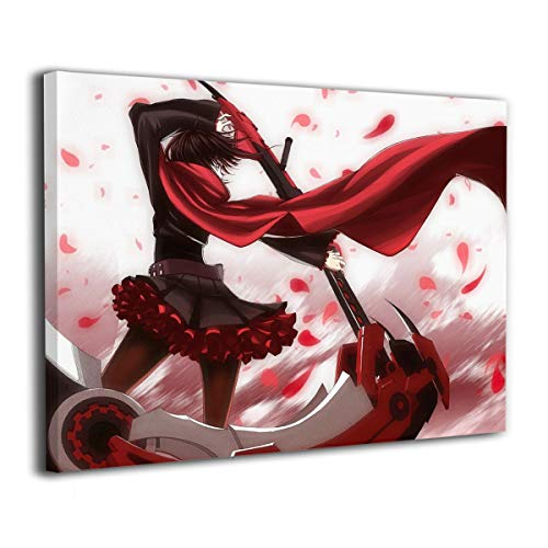 KAYERDELLE RWBY Wallpaper Canvas Wall Art Framed Paintings Pictures Decorations Home Decor Living Room Bedroom Stretched Ready to Hang
