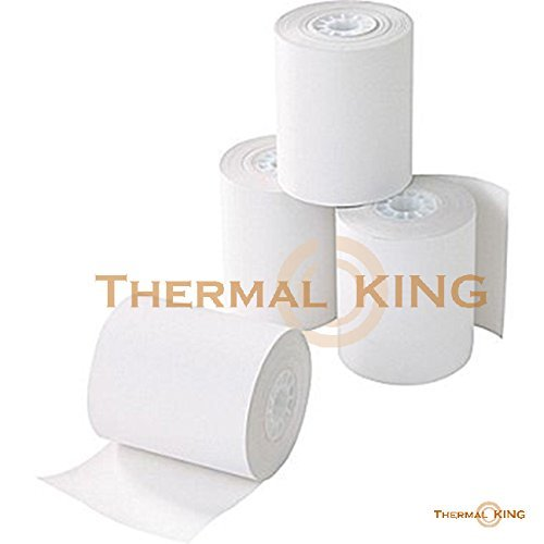 "Thermal King, Point-of-Sale Thermal Paper Rolls, 3 1/8"" x 230"