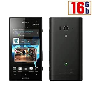 Sony Xperia Acro S LT26w 16Gb Black WiFi Android Touchscreen GSM 3G Cell Phone