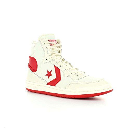Converse Sneakers Uomo, Fastbreak Vintage 159663C/EGRET/ENAMEL, Sport Hi Colore Bianco Rosso, Nuova Collezione Primavera Estate 2018 Bianco/rosso
