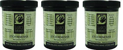 Lustro Italiano Etch Remover, 8-Ounce (3-(8-Ounce))