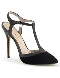 Pleaser Women's Amuse 17 Strappy Comfort Fashion Sandals