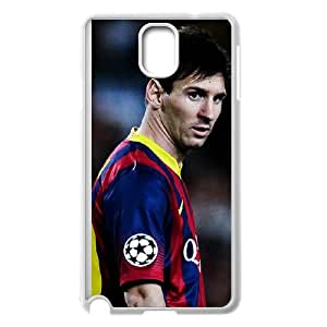 Lionel Messi Samsung Galaxy Note 3 Cell Phone Case White MUS9212105