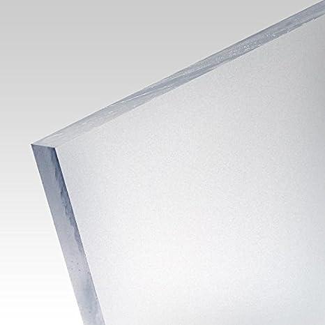 5mm PLEXIGLAS/® Platte 50x25 cm satiniert Milchglas