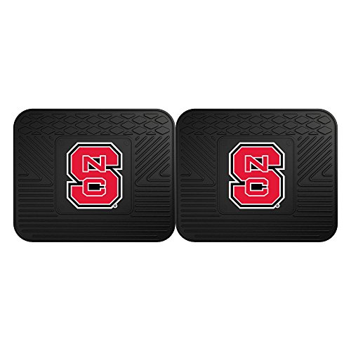 (FANMATS NCAA North Carolina State University Wolfpack Vinyl 2-Pack Utility)