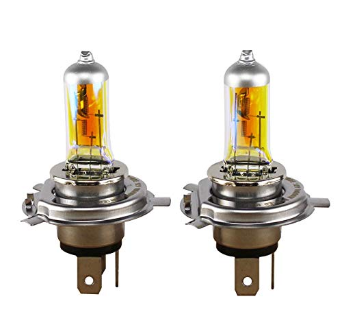 HITSAN INCORPORATION XENCN H4 12V 85/80W P43t 2300K Golden Eyes Super Yellow Light Halogen Car Styling Bulbs Packing Headlights
