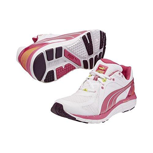 PUMA Womens Faas 600 S Running Shoe White/Fuchsia/Purple/Fluorescent Yellow q56ItF