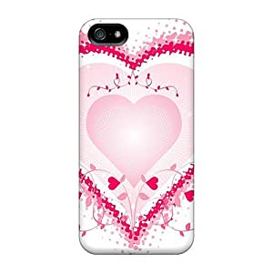 Ultra Slim Fit Hard Cases Covers Specially Made For Iphone 5/5s- Love