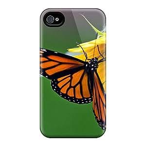 Iphone 4/4s Case Cover Skin : Premium High Quality Monarch Glory Case