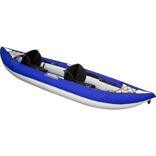 Aquaglide Fins - Aquaglide Chinook 100 Inflatable Kayak.