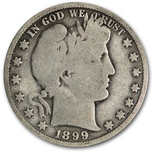 1899 O Barber Half Dollar Good Half Dollar Good