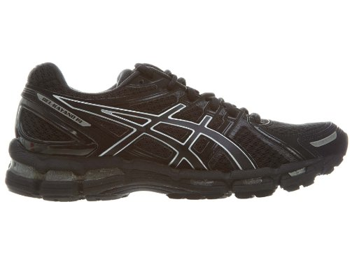 ASICS Women's Gel-Kayano 19 Running Shoe,Black/Onyx/Lightning,13 M US