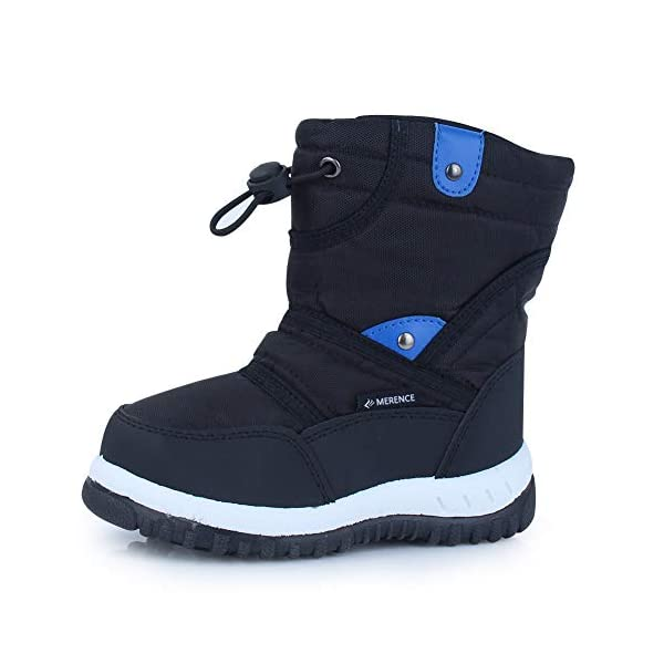 Kerrian Online Fashions 41YBmp6Yr%2BL CIOR Winter Snow Boots for Boy and Girl Outdoor Waterproof with Fur Lined(Toddler/Little Kids)