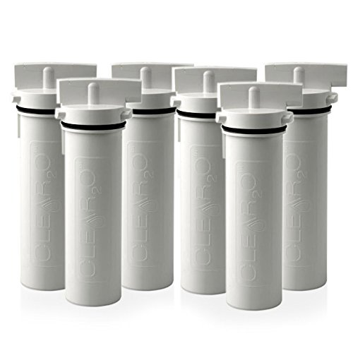 Clear2O Replacement Water Pitcher Filter Pack of 6 - Clear2o Water