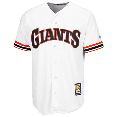 San Francisco Giants MLB Men's Big and Tall Cooperstown Team Jersey White (3XT)