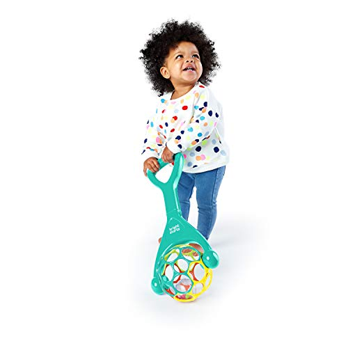 41YBoQwMyCL - Bright Starts Oball 2-in-1 Roller Sit-to-Stand Push Toy