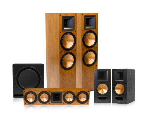 Klipsch RF-7 II Reference Series 5.1 Home Theater Speaker Package (Cherry)
