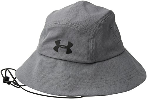 Under Armour Men's ArmourVent Warrior Bucket 2.0 Hat, Graphite (040)/Black, One Size by Under Armour