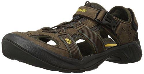 Teva Men's Omnium Closed-Toe Sandal - Brown - 10.5 B(M) US