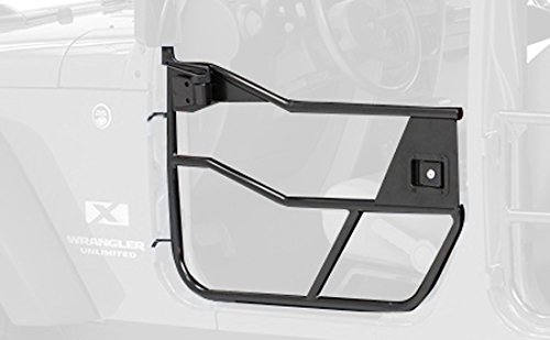 Bestop 51810-01 Satin Black HighRock 4X4 Element Door Set for 2007-2018 Wrangler JK 2-Door and Unlimited - Front Doors ()