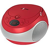 Axess PB2710 Portable Stereo CD/CDR/CDRW  Player with AM/FM Stereo Radio, LED Display and Headphone Jack, AC power and DC battery (batteries are not included)