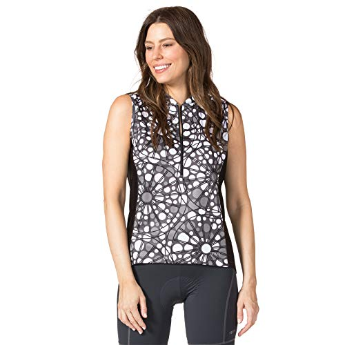 Terry Women's Breakaway Sleeveless Bicycling Jersey Plus - Cobbles - - 1 1 Sleeveless X
