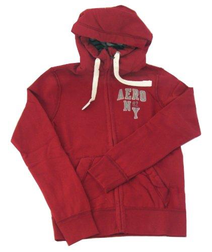 Aero 87 NY Full-Zip Hoodie, Barn Red, XXL