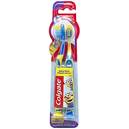 Colgate Kids Minions Toothbrush, 2 (Cartoons For Babies Online)