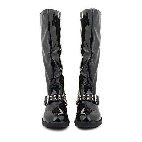 Footwear Sensation - Botas para mujer negro negro negro - negro (black patent)