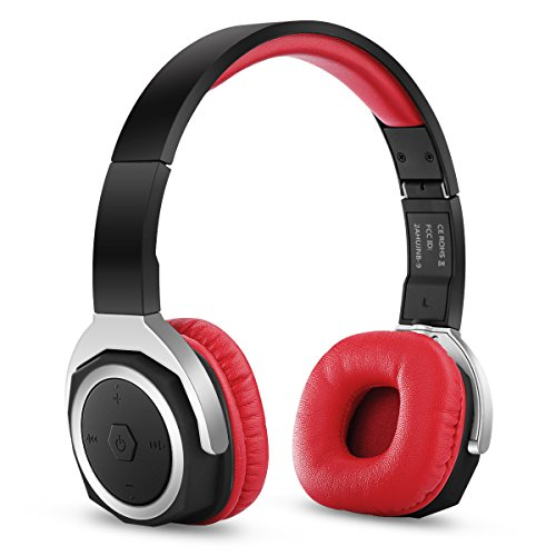 3eab4c95659 Zinsoko Bluetooth V4.1 Headphone On Ear Headphones with Mic, Sports APP, NFC