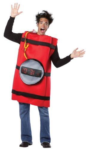 Dynamite Costumes (Rasta Imposta He's Dynamite, Red, One Size)