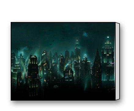 Exceptional PrettyLee Custom Modern Wall Art Home Decor Canvas Prints Bioshock Rapture  16 X 12 Inch