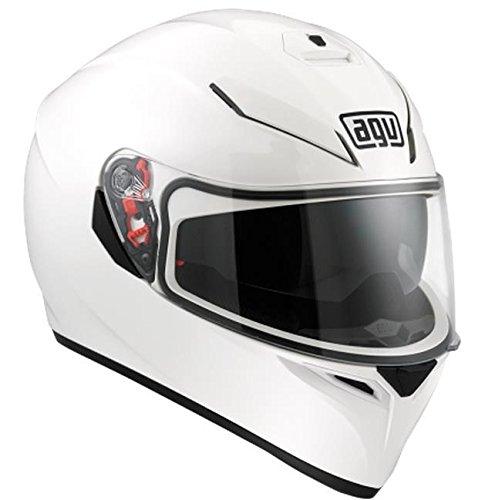 Agv White Helmet - 6