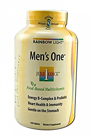 Amazon.com: Rainbow Light sólo una vez Mens One Energy ...