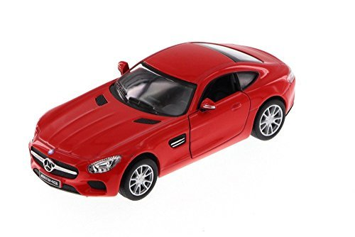 Kinsmart Mercedes-Benz AMG GT, Red 5388D - 1/36 Scale Diecast Model Toy Car