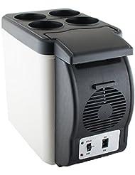 Denshine 6L Portable Car Refrigerator Fridge Cooler Warmer Freezer 12V Truck Camping -- USA Shipping