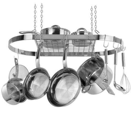 Berndes Range Kleen Hanging Oval Pot Rack by Brand new