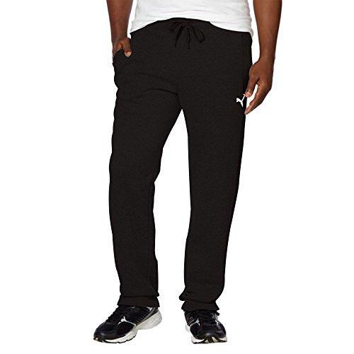 Puma Men's Fleece Pant, (Medium, Black)