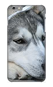 [tnCEpR-536-eXfnX]premium Phone Case For iphone 4 4s / Animal Husky Tpu Case Cover(best Gift Choice)