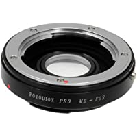 Fotodiox Pro Lens Mount Adapter - Minolta Rokkor (SR / MD / MC) SLR Lens to Canon EOS (EF, EF-S) Mount SLR Camera Body, with Focus Confirmation Chip